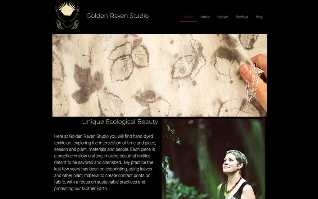 Web Design for Artist Website